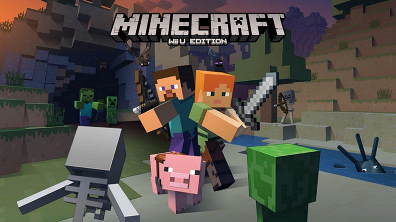 Minecraft: la versione per Wii U si lancia in foto