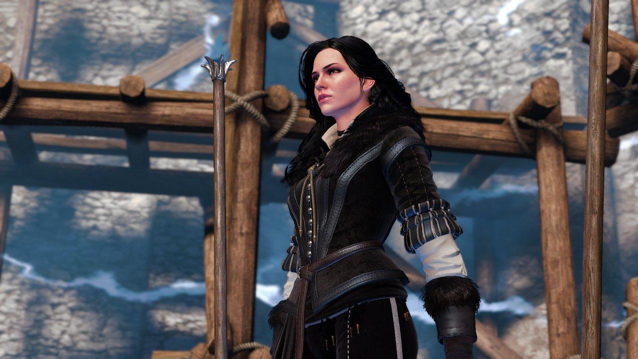 The Witcher 3: una mod permette di sostituire Geralt con Triss, Yennefer e le altre donne