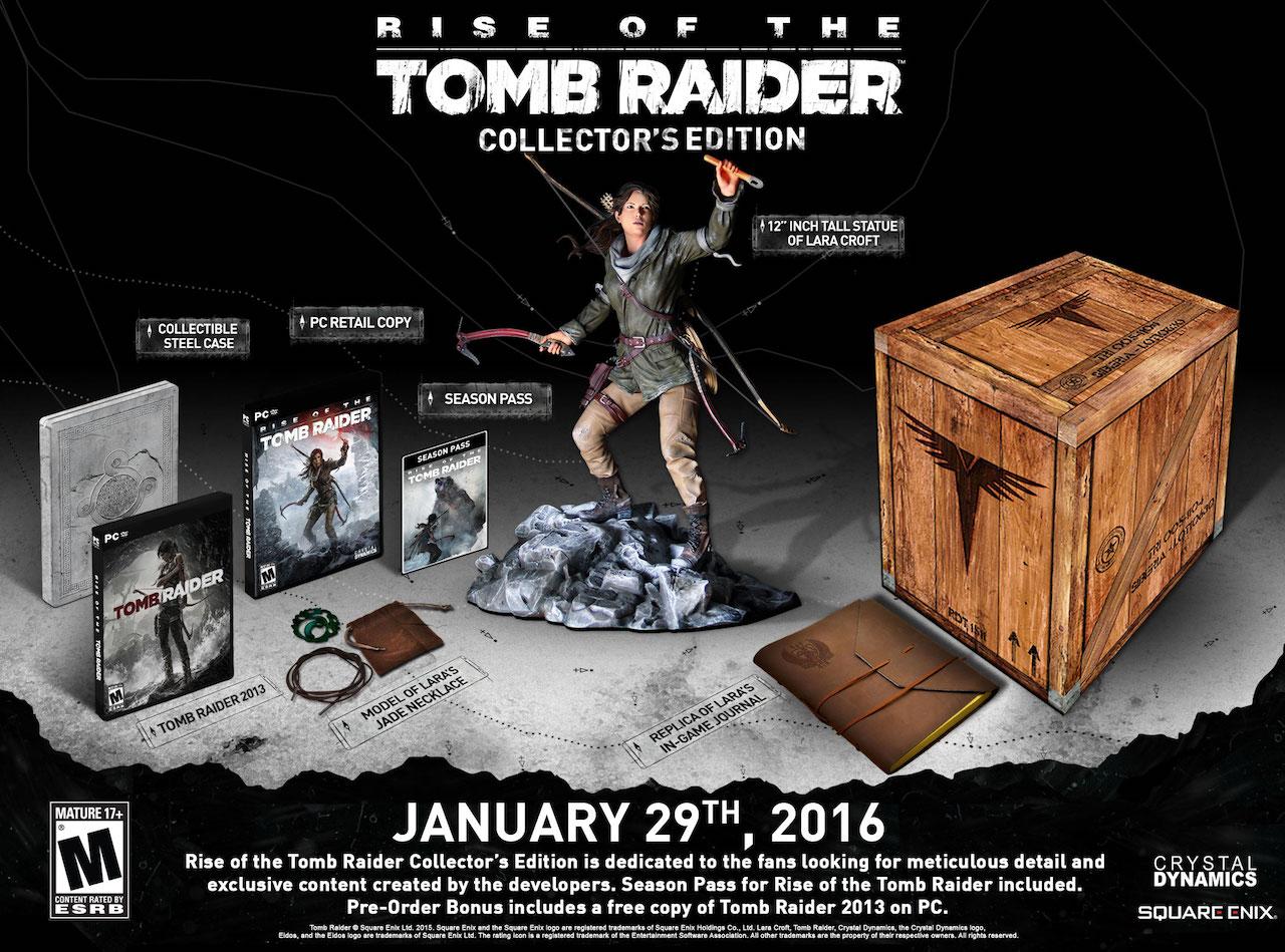 Rise Of The Tomb Raider arriverà su PC il 28 gennaio 2016