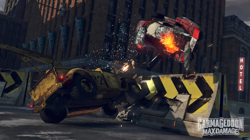 Carmageddon: Max Damage annunciato per PC, PlayStation 4 e Xbox One