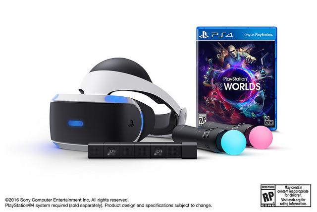 PlayStation VR arriverà con un bundle da 500 dollari