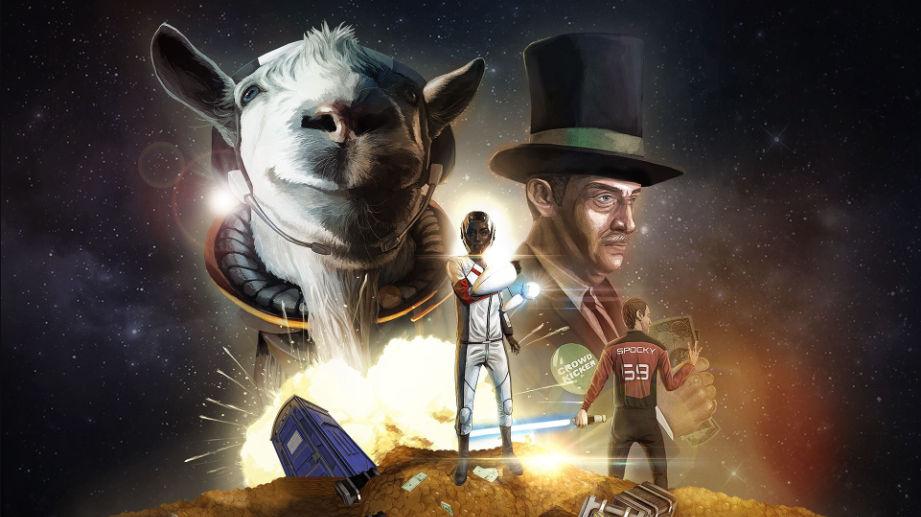Goat Simulator: capre-Jedi e colonie aliene con l'espansione Waste of Space