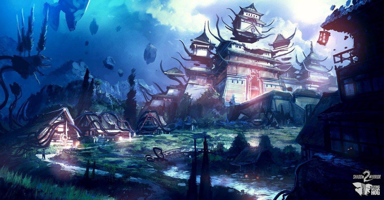 Shadow Warrior 2: nuovi bozzetti preparatori sulle ambientazioni