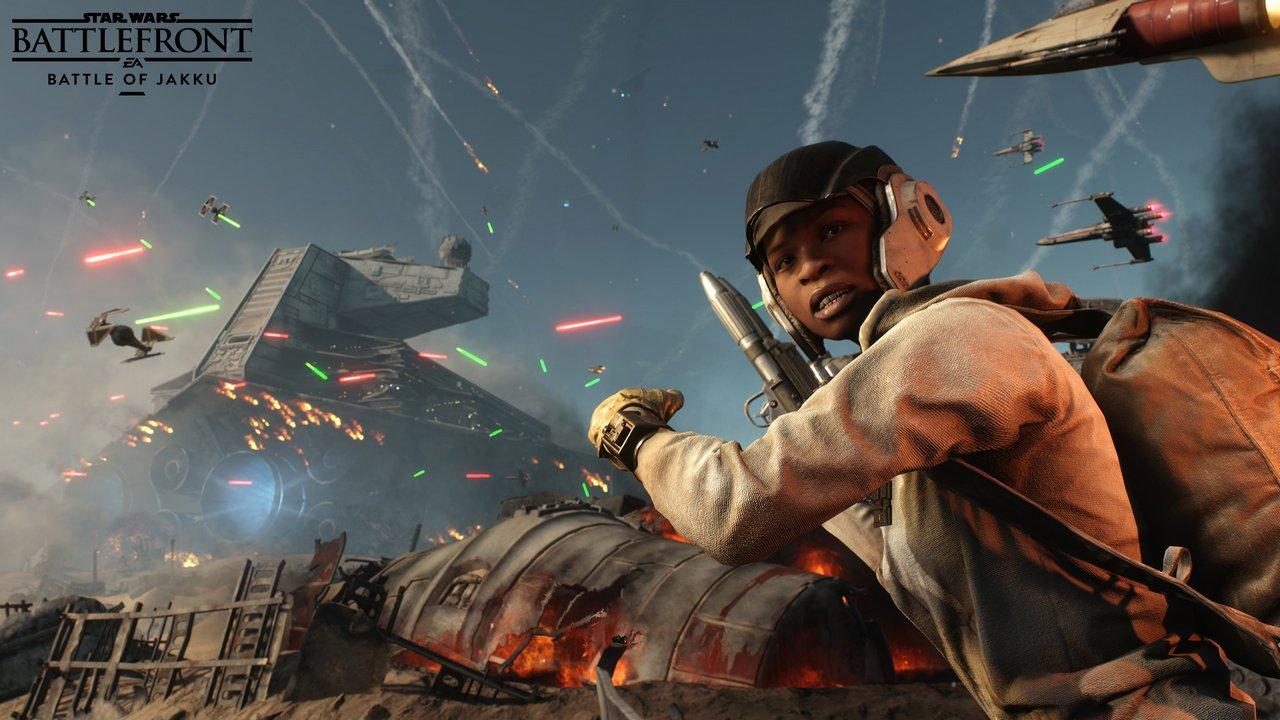 Star Wars Battlefront 2 arriverà nel 2017