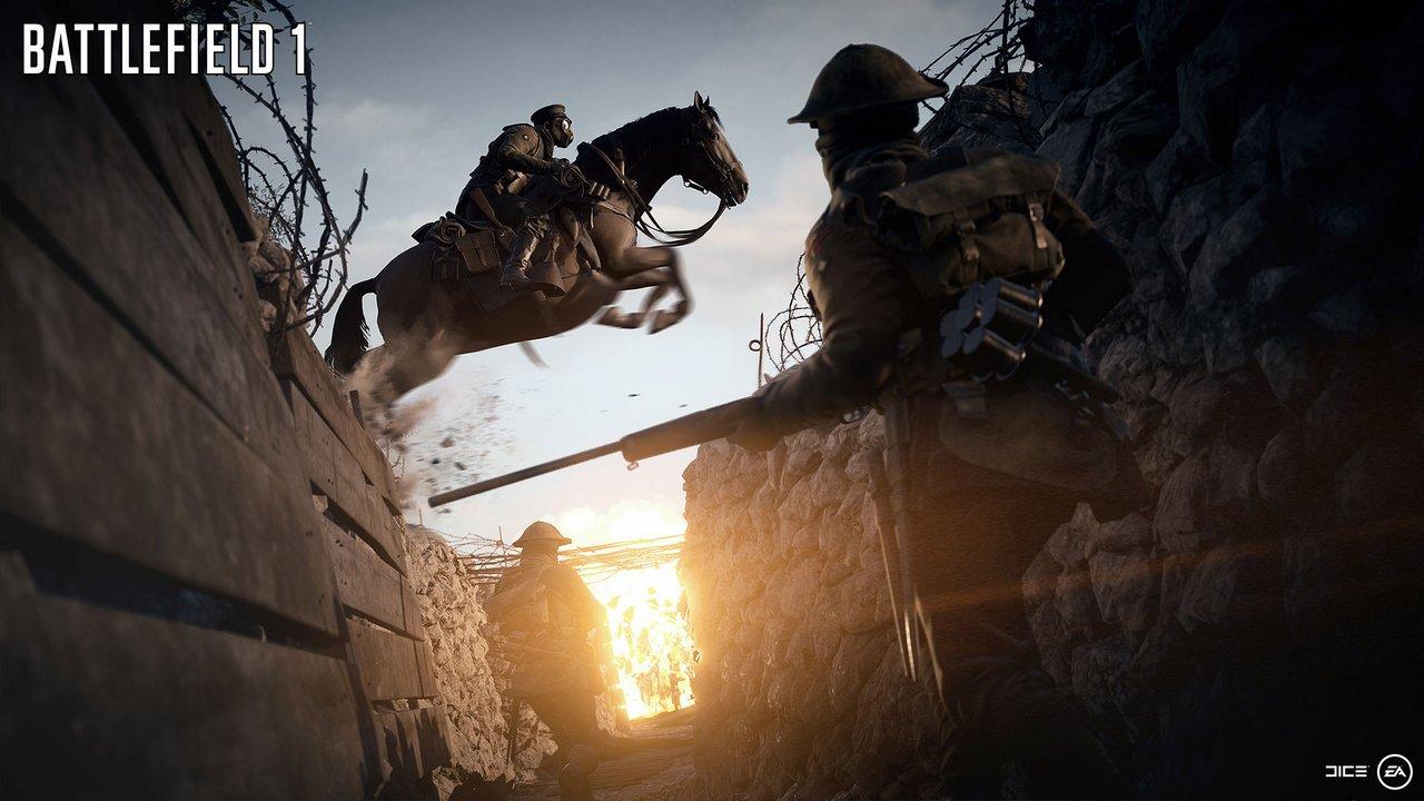 Battlefield 1: le immagini e il video dell'E3 2016 svelano la modalità Operazioni