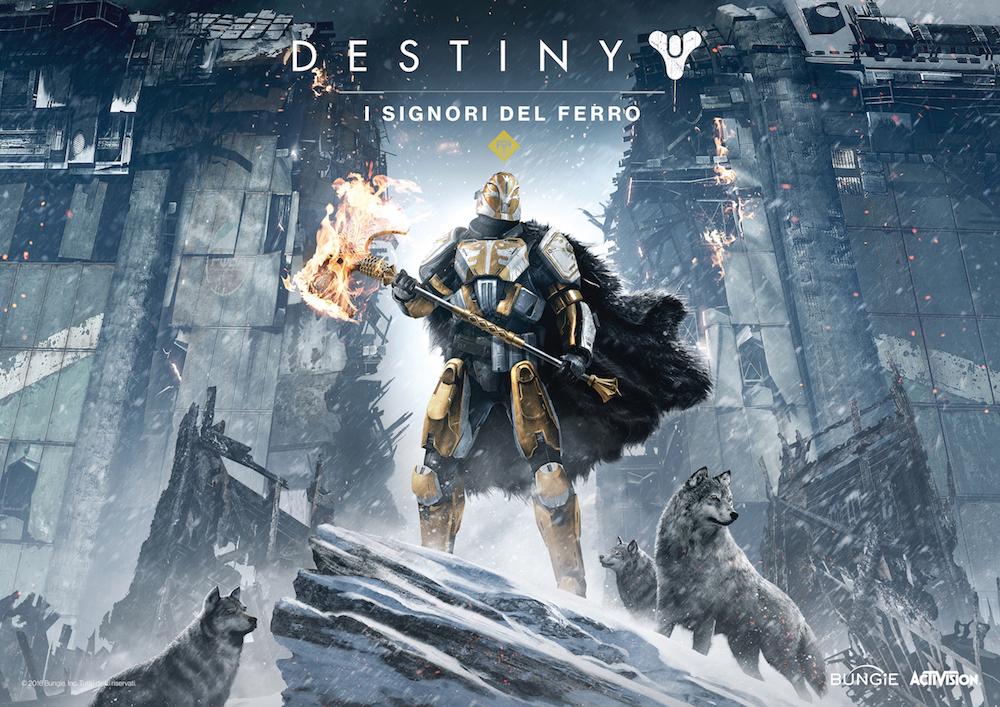Destiny: I Signori del Ferro, ecco il trailer ufficiale e la data di uscita
