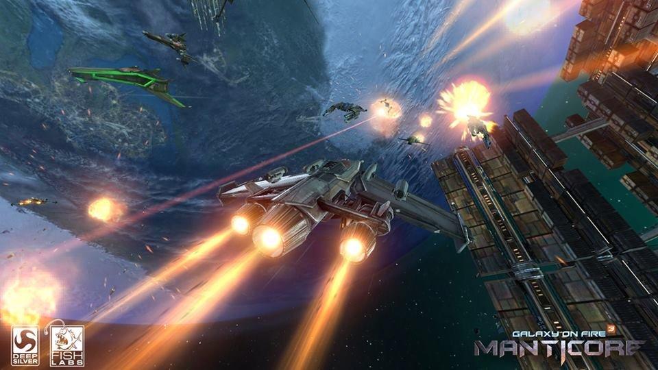 Galaxy on Fire 3: Manticore per iOS e Android torna a mostrarsi in immagini e video