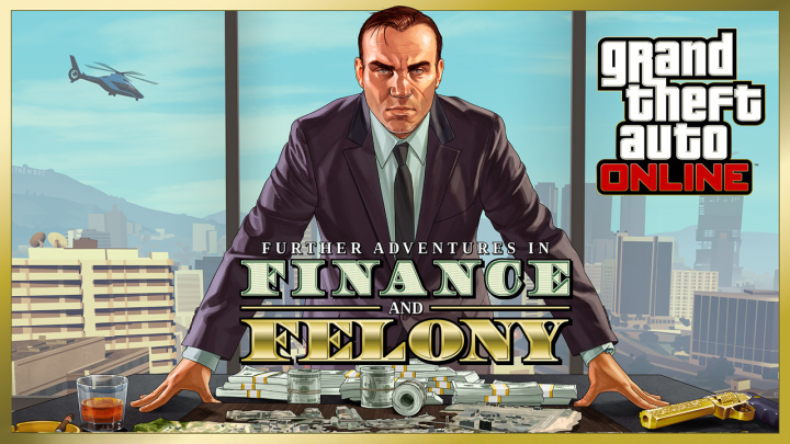 "GTA Online: l'update ""Fenomeni del Furto e della Finanza"" è disponibile"