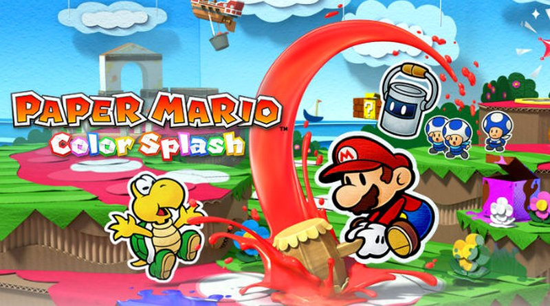 Paper Mario: Color Splash per Wii U – immagini, video e data di uscita