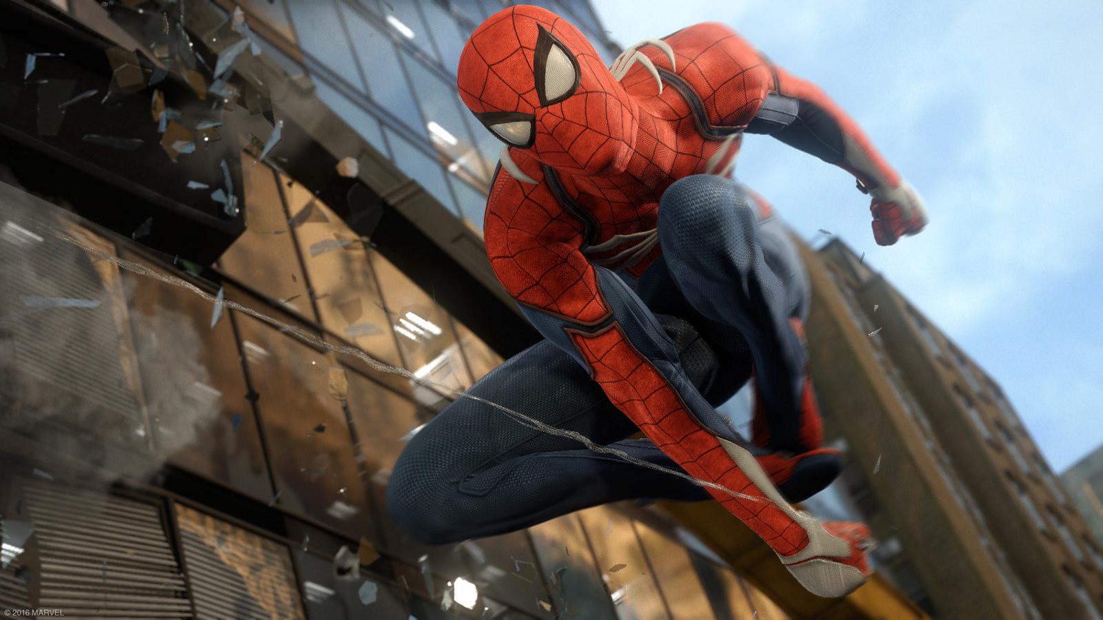 Spider-Man annunciato ufficialmente per PlayStation 4: foto e video dall'E3 2016