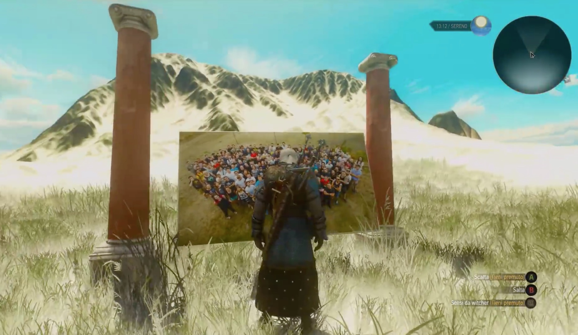 The Witcher 3: Wild Hunt, il team di CD Projekt RED si nasconde in una easter egg in Blood and Wine