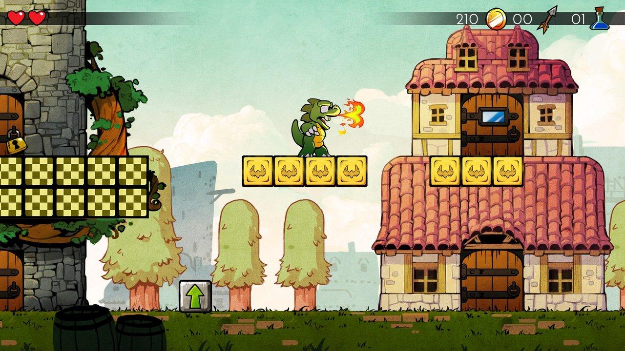 Wonder Boy: The Dragon's Trap, ecco il video d'annuncio e i primi screenshot