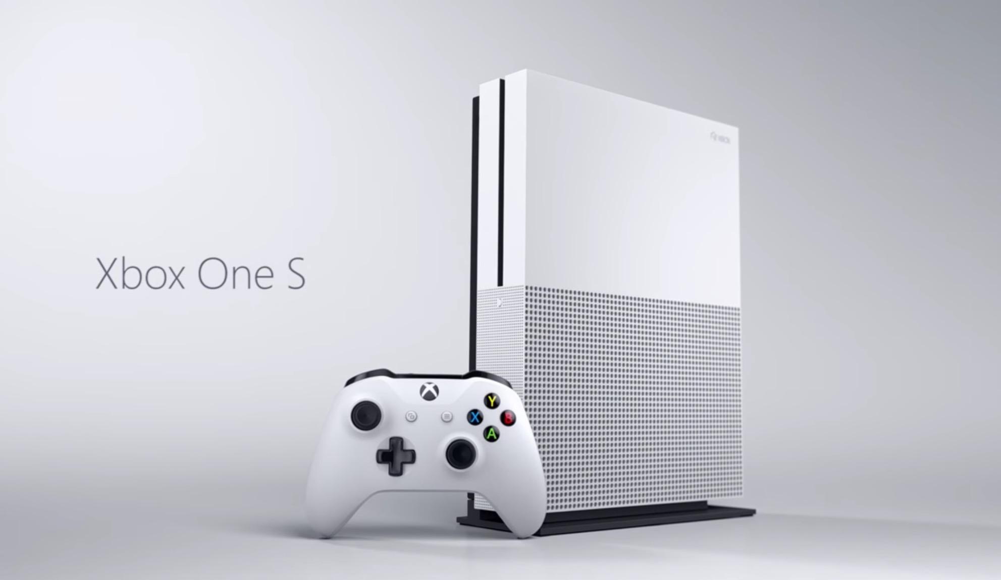 Xbox One S annunciata ufficialmente: ecco tutti i dettagli