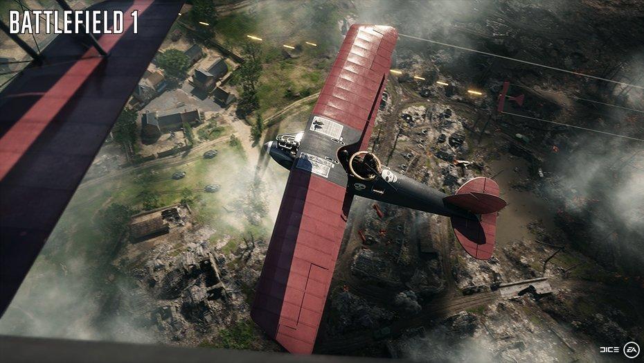 Battlefield 1: aerei e navi da battaglia in nuove immagini