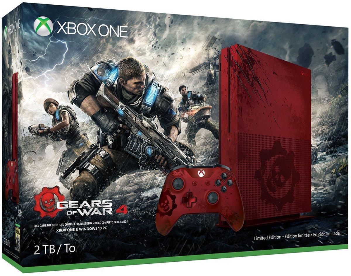 Gears of War 4, svelato il bundle con l'edizione limitata di Xbox One S