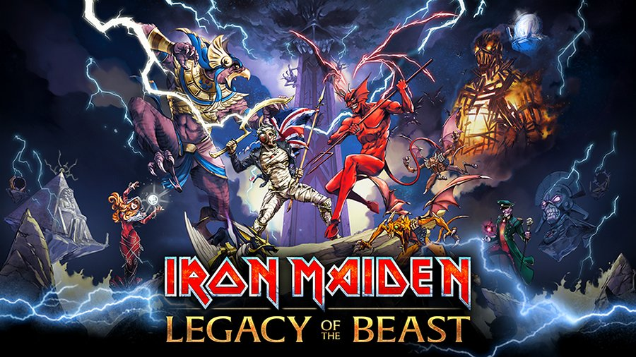 Iron Maiden: Legacy of the Beast sbarca su iOS e Android – ecco le immagini e il video di lancio