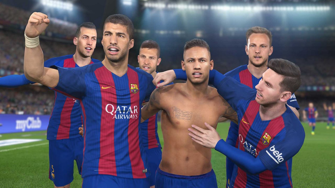 PES 2017: Konami annuncia la partnership con il Barcellona – immagini e video