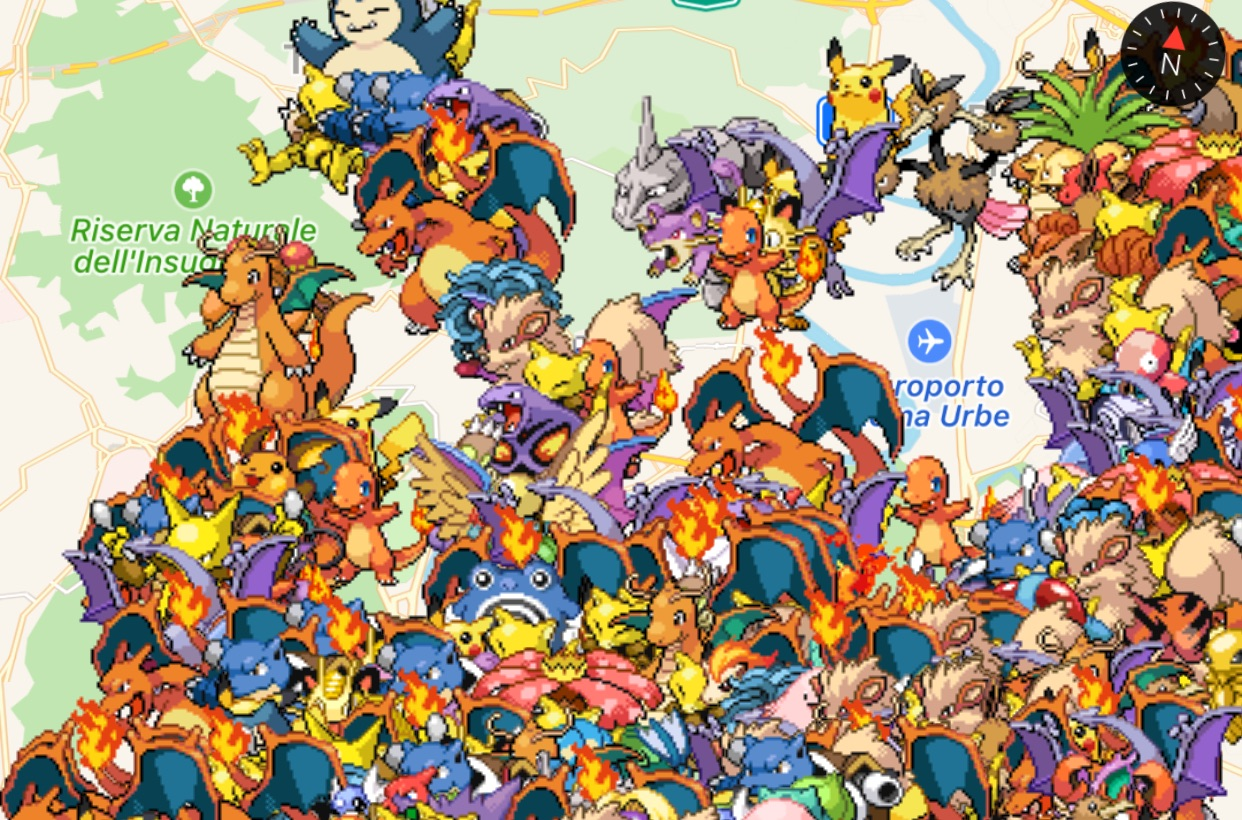 Poke Radar, ecco l'app che svela la posizione dei Pokémon in Pokémon GO