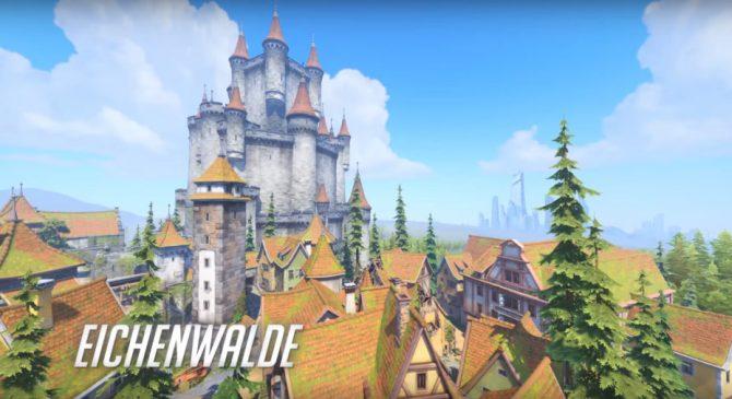 Overwatch, presentata la nuova mappa Eichenwalde ambientata in Germania
