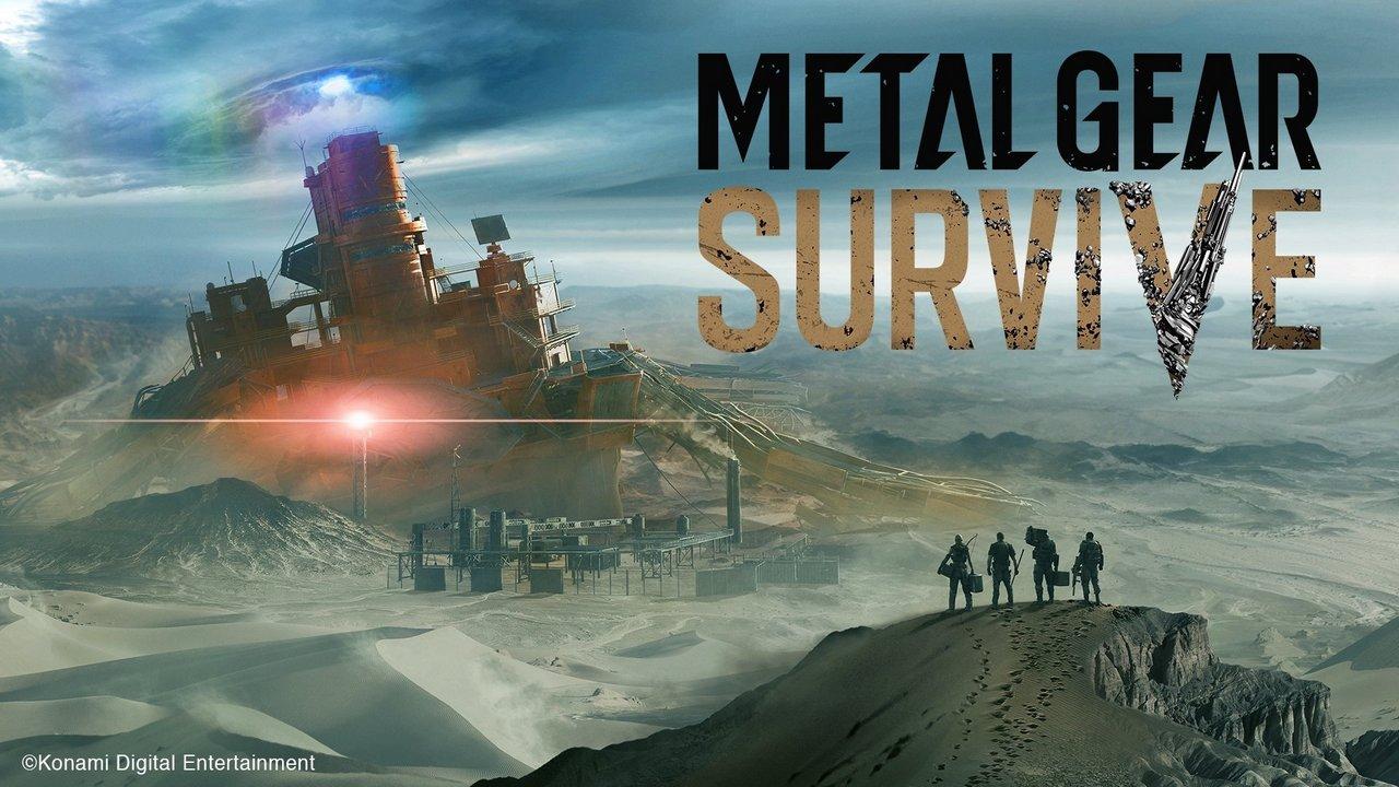 Metal Gear Survive annunciato ufficialmente da Konami: immagini e video dalla Gamescom