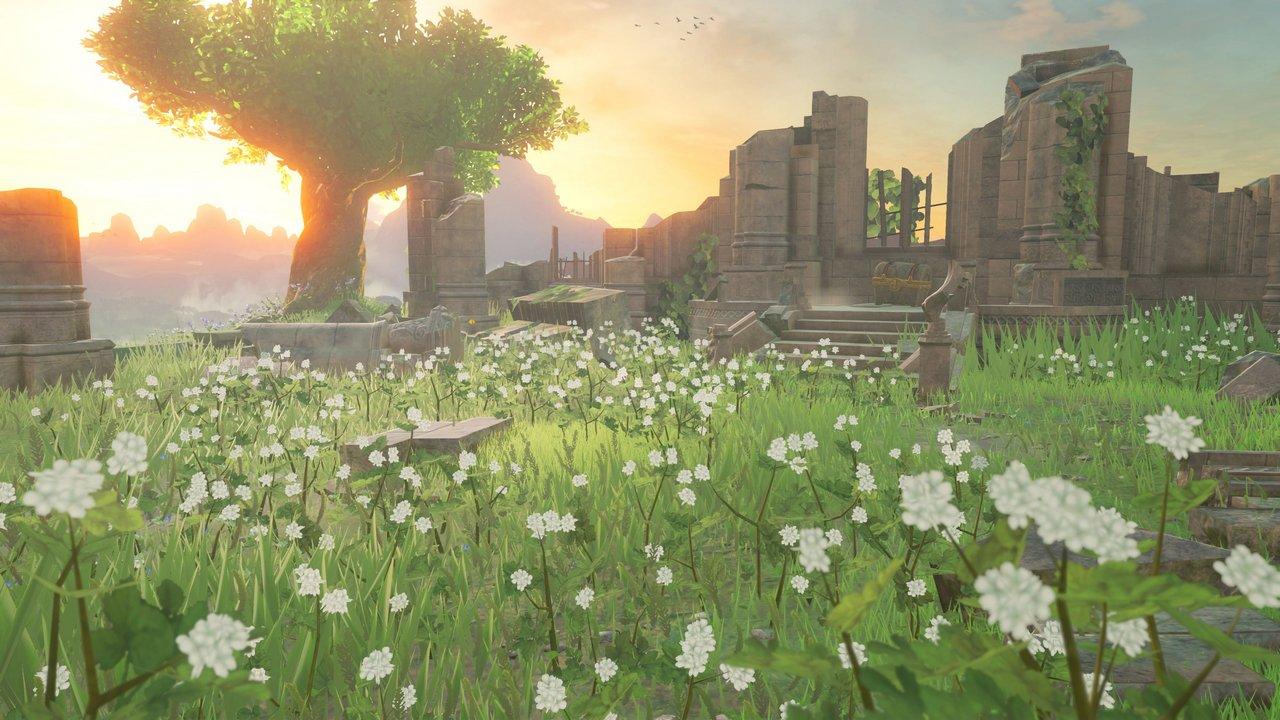 The Legend of Zelda: Breath of the Wild – il nuovo video ci mostra le rovine del Santuario del Tempo