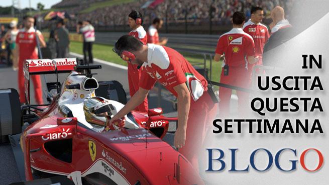 Videogiochi in uscita dal 15 al 21 agosto: F1 2016, Bound, Grow Up