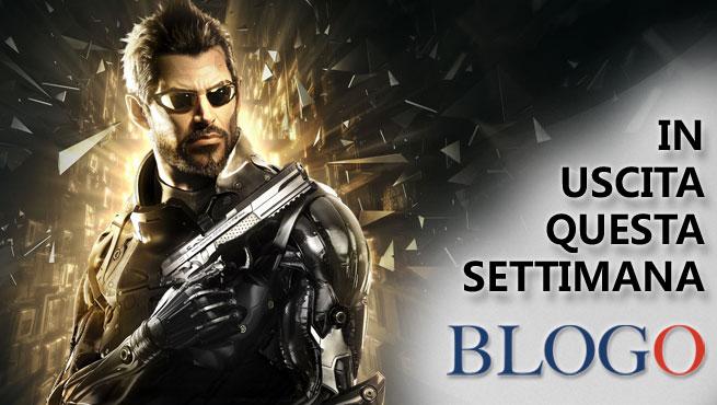 Videogiochi in uscita dal 22 al 28 agosto: Deus Ex Mankind Divided, Assetto Corsa per PS4 e Xbox One, Attack on Titan Wings of Freedom