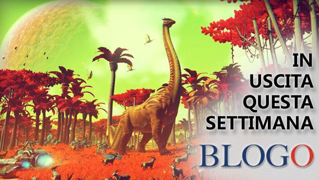 Videogiochi in uscita dall'8 al 14 agosto: No Man's Sky, Kingdom New Lands, Blade Ballet