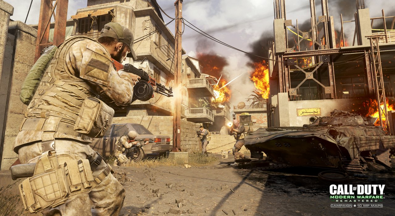 Call of Duty: Modern Warfare Remastered avrà 16 mappe multiplayer – nuove immagini dal CoD XP