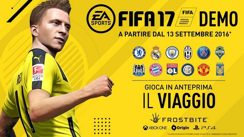 FIFA 17: svelati tutti i contenuti della demo