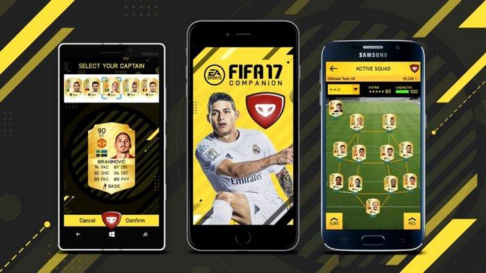 FIFA 17: la companion app per iOS e Android è disponibile