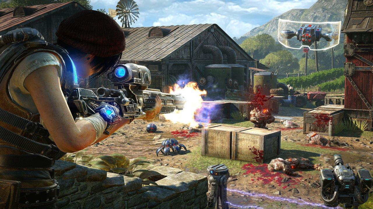 Gears of War 4: l'Orda 3.0 si presenta in foto e video
