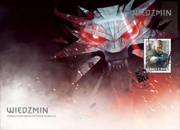 The Witcher, in Polonia arriva il francobollo dedicato a Geralt
