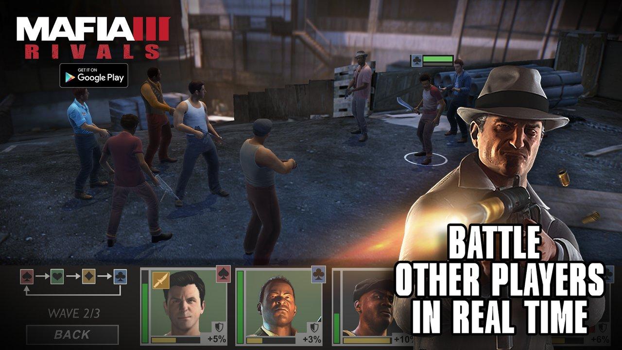 Mafia III: Rivals per iOS e Android – ecco le immagini di presentazione