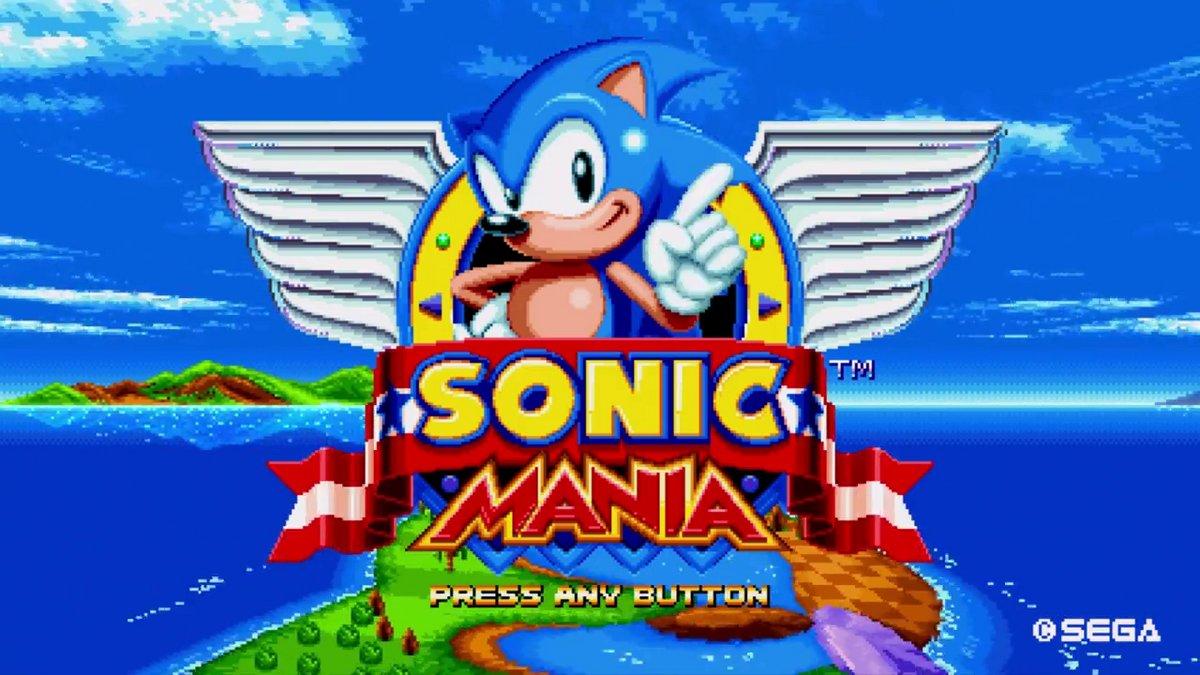 Sonic Mania: immagini e video dal PAX West 2016