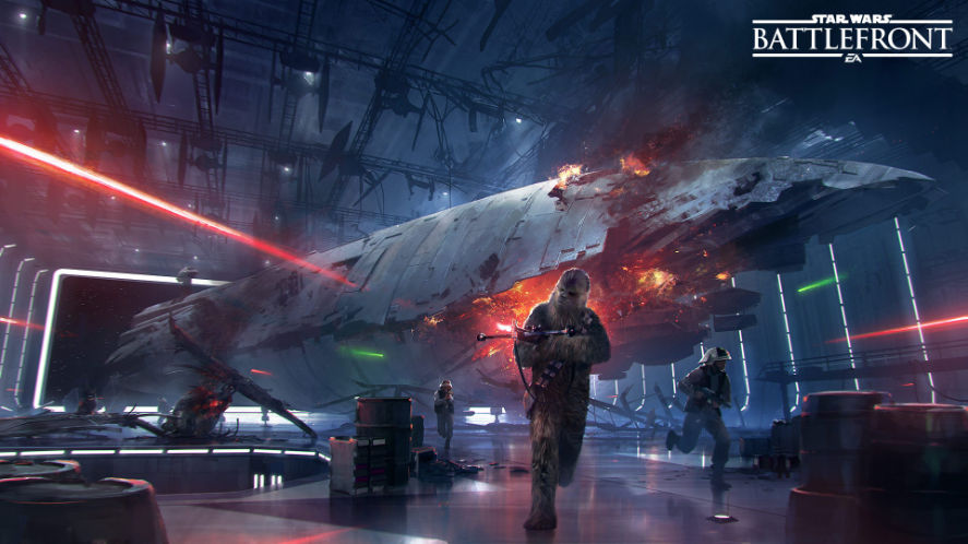 "Star Wars Battlefront, ecco il primo video di gioco del DLC ""Morte Nera"""