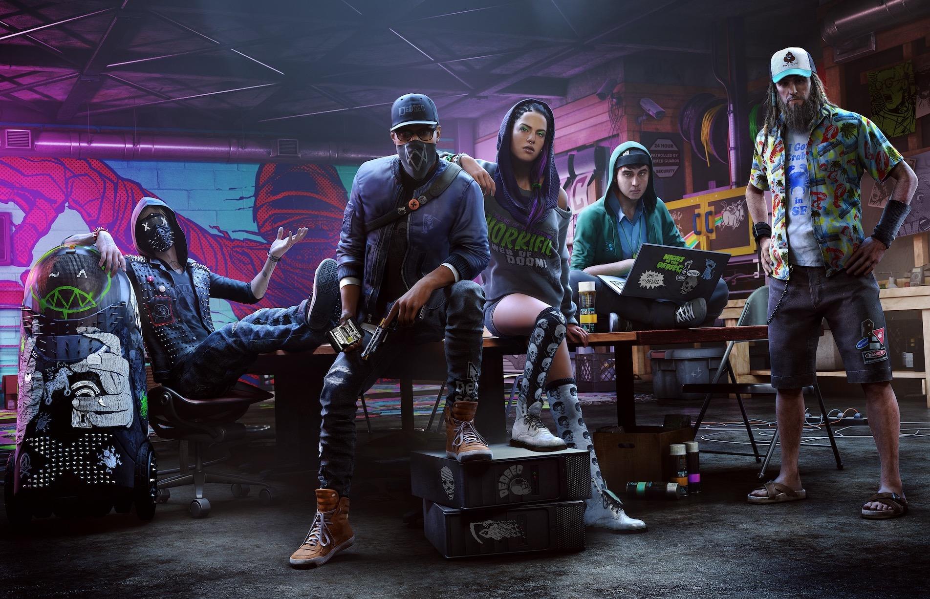 Watch Dogs 2, il nuovo trailer ci presenta il collettivo di hacker DedSec