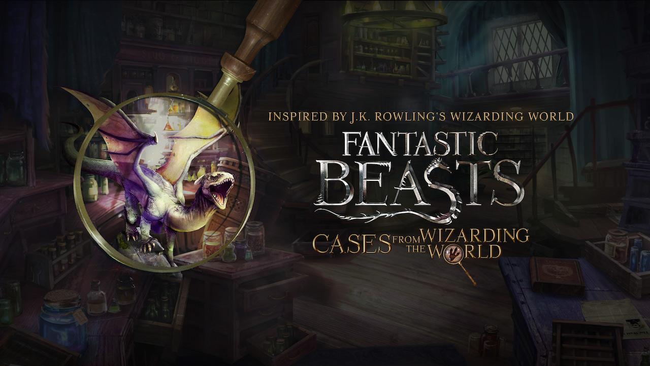 Animali fantastici: misteri dal magico mondo annunciato per iOS e Android