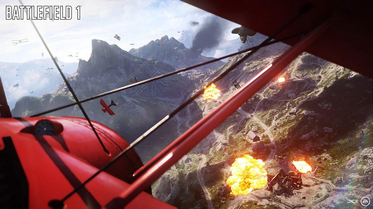 Battlefield 1: nuovo filmato dimostrativo sulla modalità Spettatore