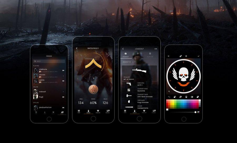 Battlefield 1: la Companion App ufficiale è disponibile su iOS, Android e Windows 10 Mobile