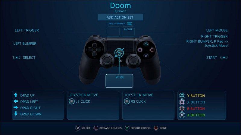 Steam: Valve annuncia il supporto ufficiale al DualShock 4 di PS4