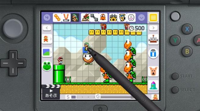 Super Mario Maker per 3DS torna a mostrarsi in foto