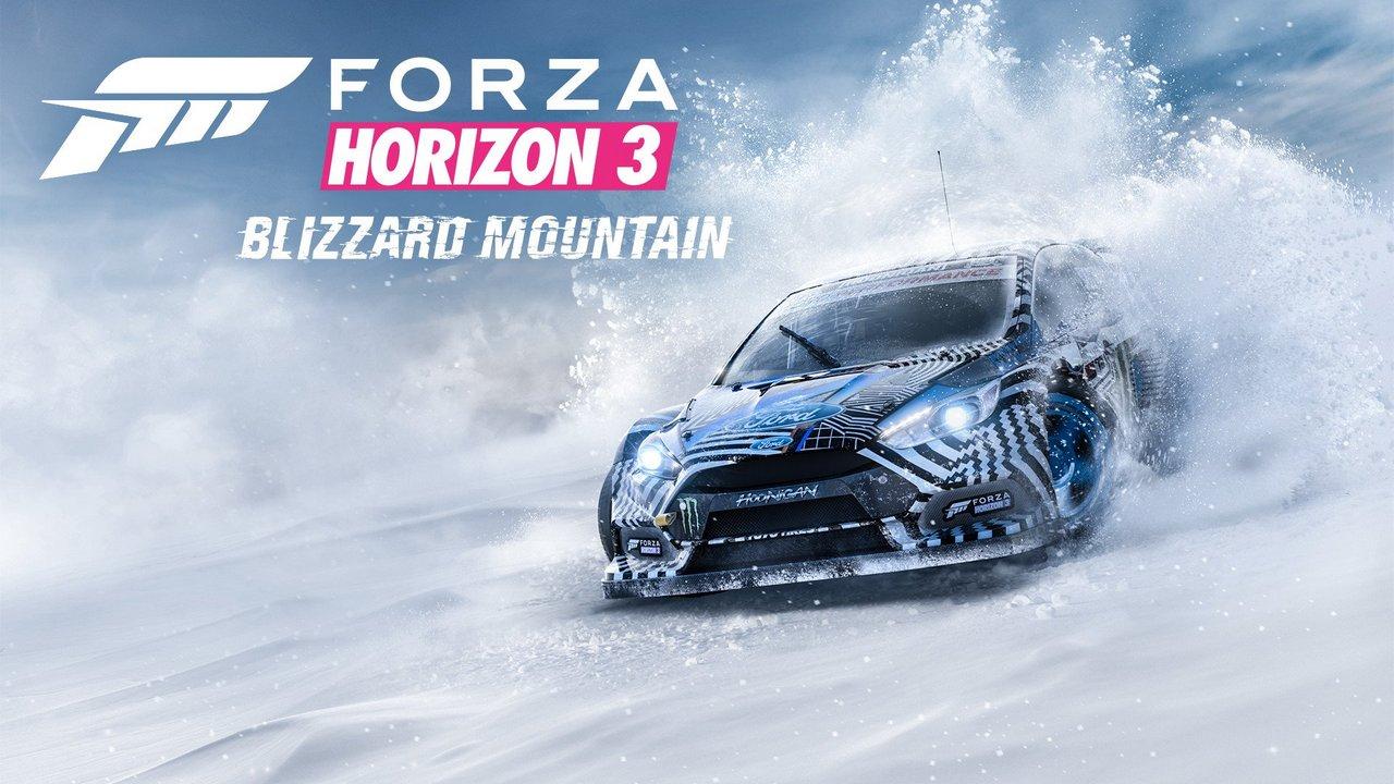 Forza Horizon 3: nuovi dettagli sull'espansione Blizzard Mountain
