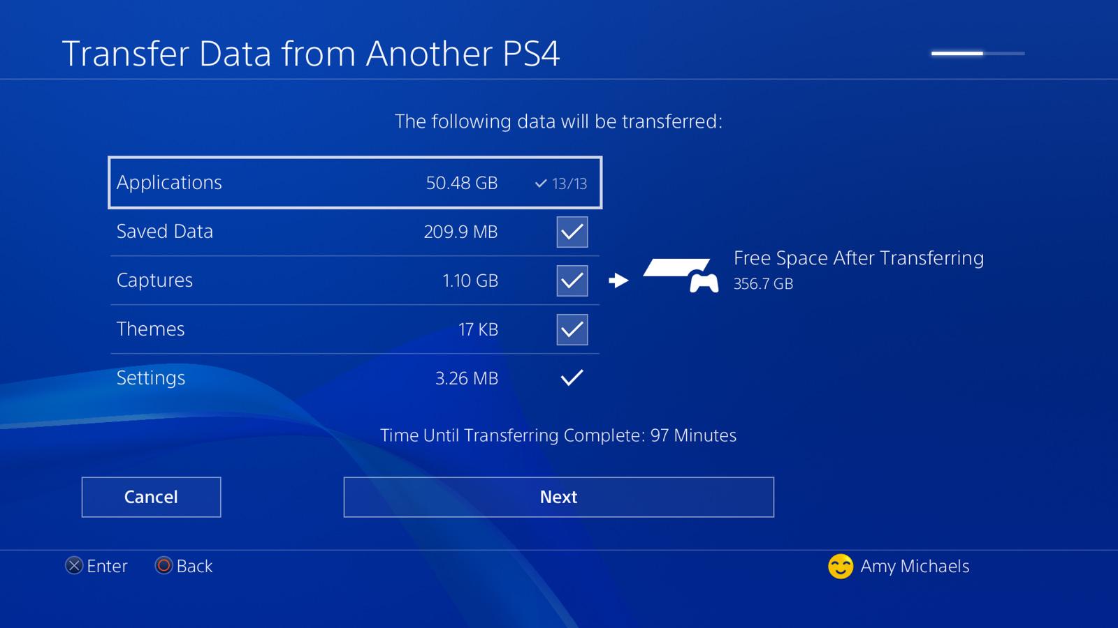 PlayStation 4 Pro, come trasferire i vostri dati da PlayStation 4