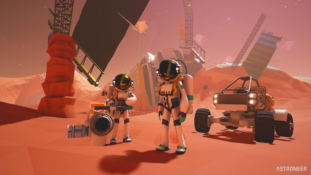 Astroneer: la versione Early Access si lancia in foto e video