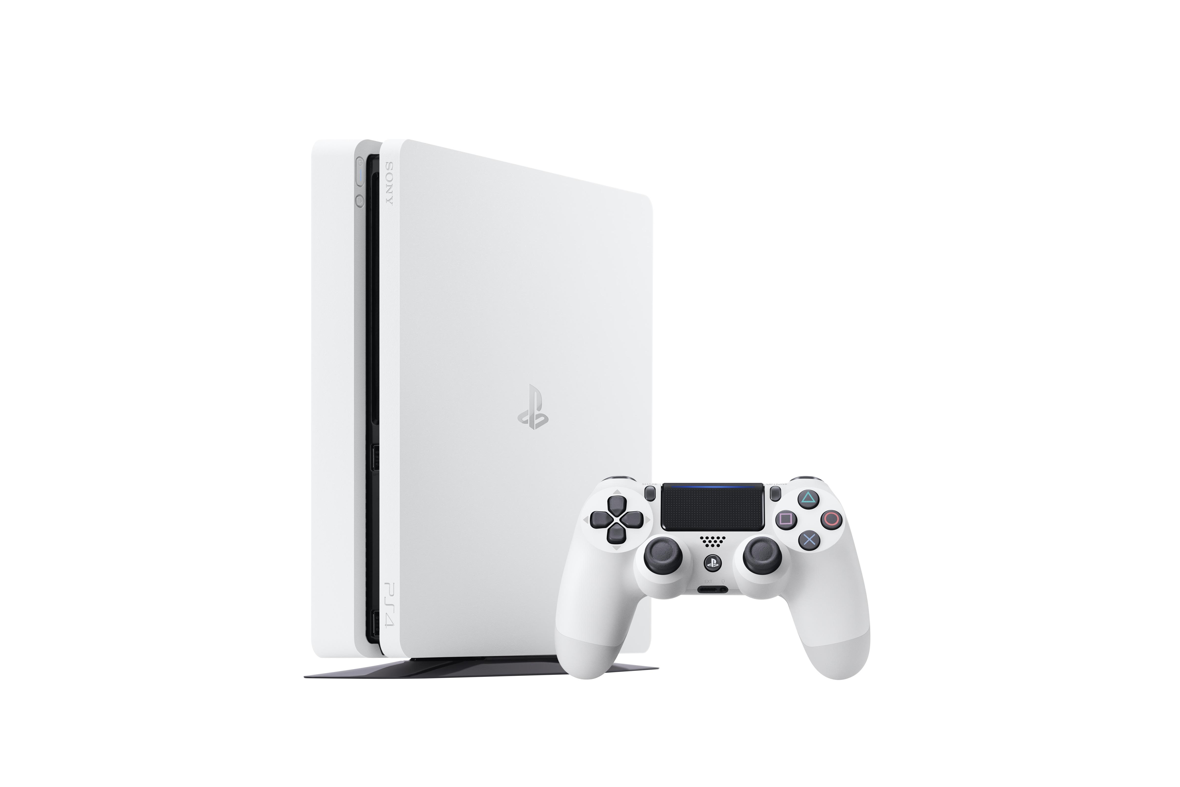 Sony annuncia la versione glacier white di PlayStation 4