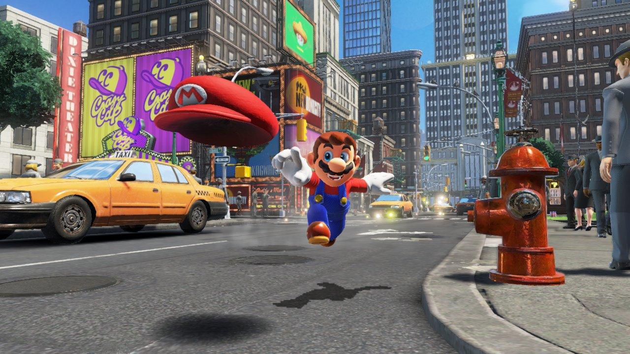 Super Mario Odyssey per Nintendo Switch: ecco le immagini e il video di presentazione
