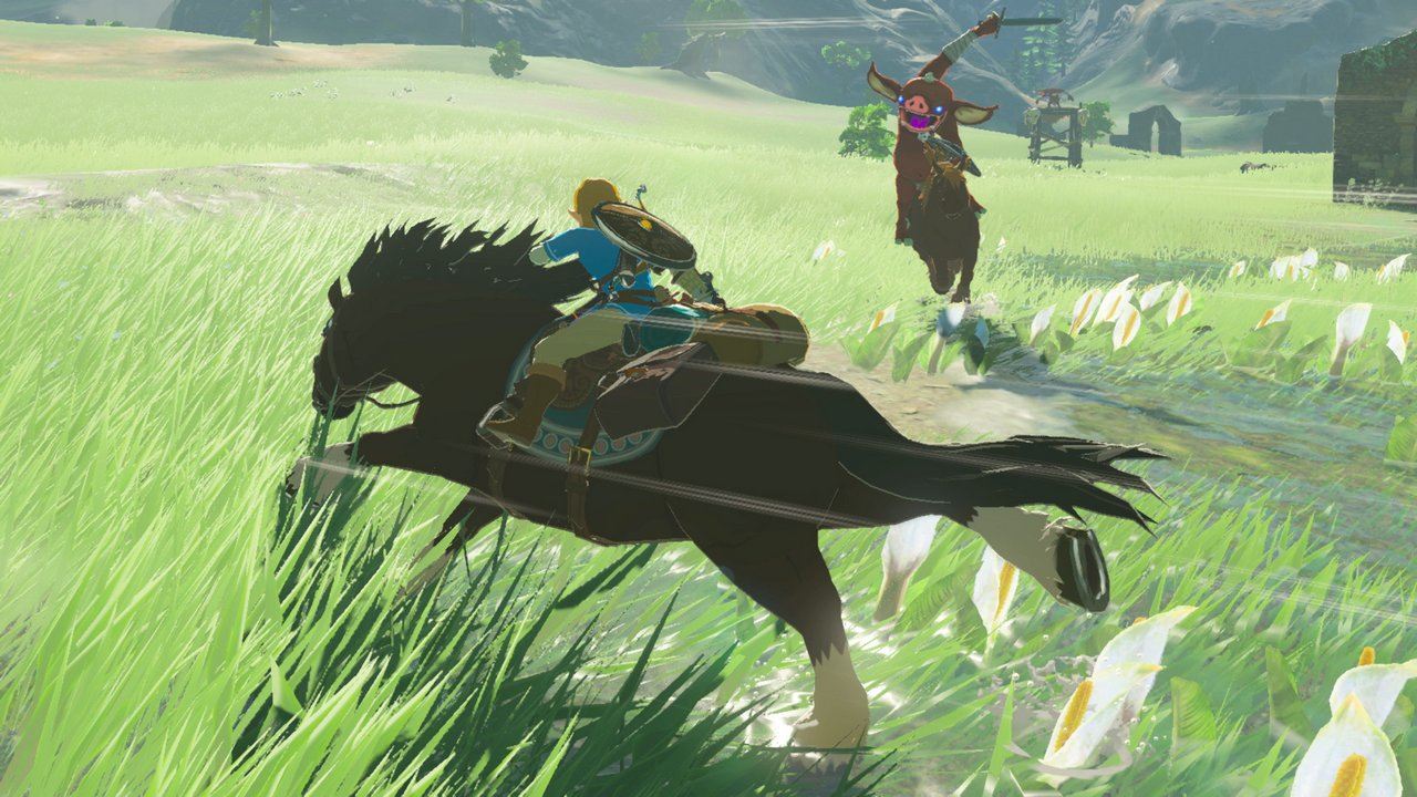 The Legend of Zelda: Breath of the Wild – nuove immagini e scene di gioco su Nintendo Switch