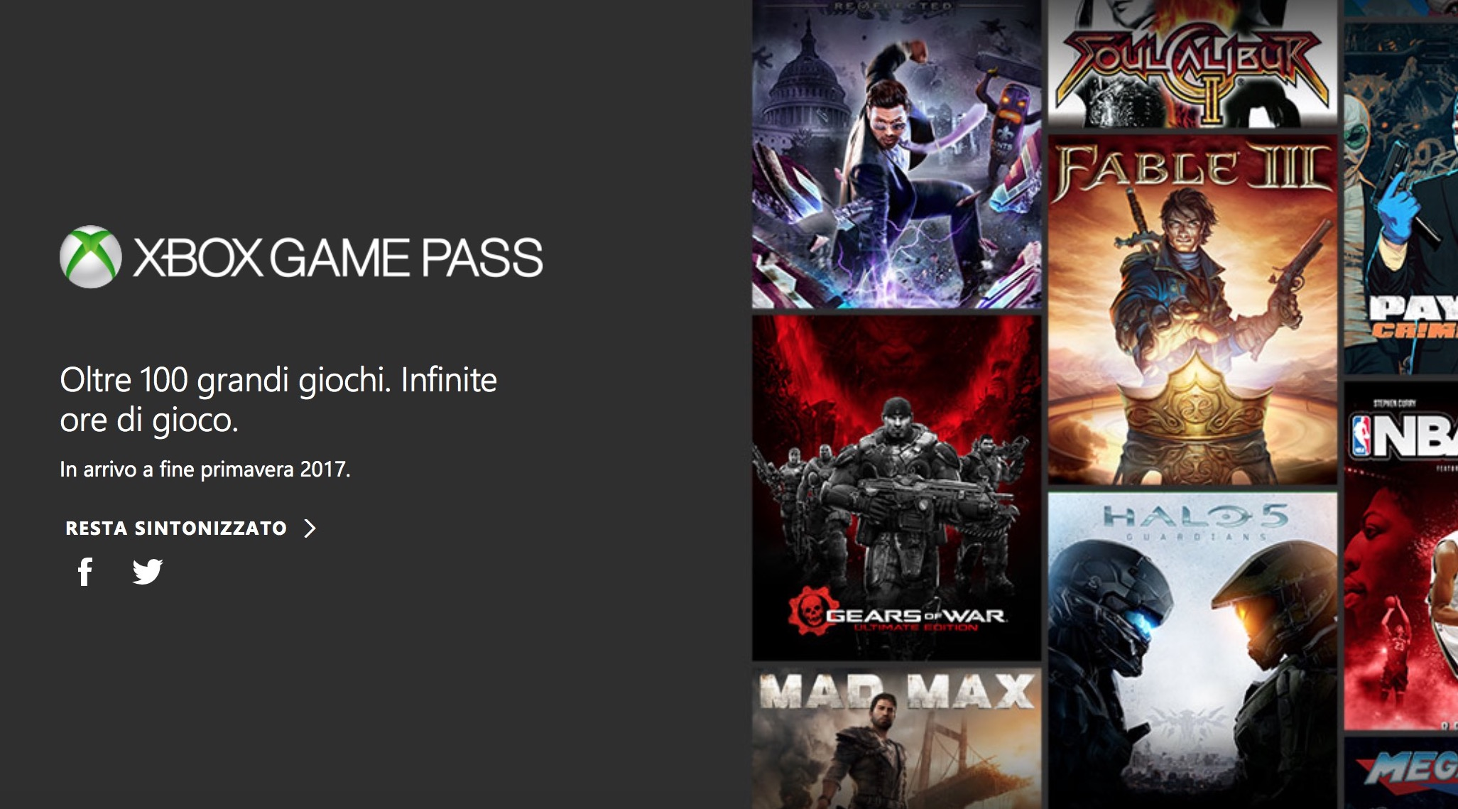 Xbox Game Pass arriva in Italia: accesso illimitato ad oltre 100 giochi