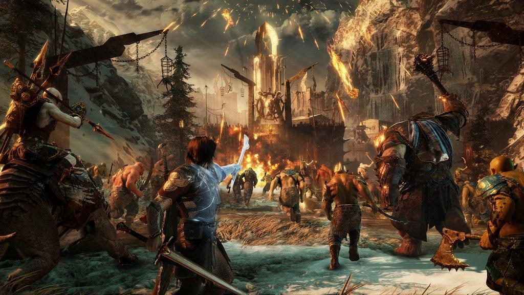 La Terra di Mezzo: L'Ombra della Guerra – ecco le prime immagini e scene di gioco
